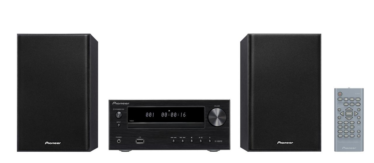 Pioneer mikro systém s CD, USB, černý