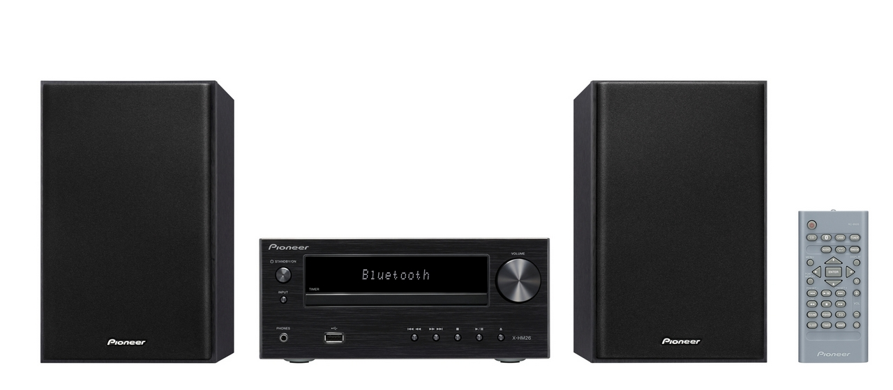 Pioneer mikro systém s CD, USB, BT černý