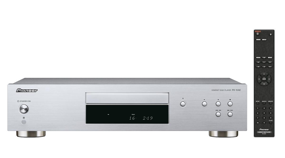 Pioneer audio CD přehrávač stříbrný