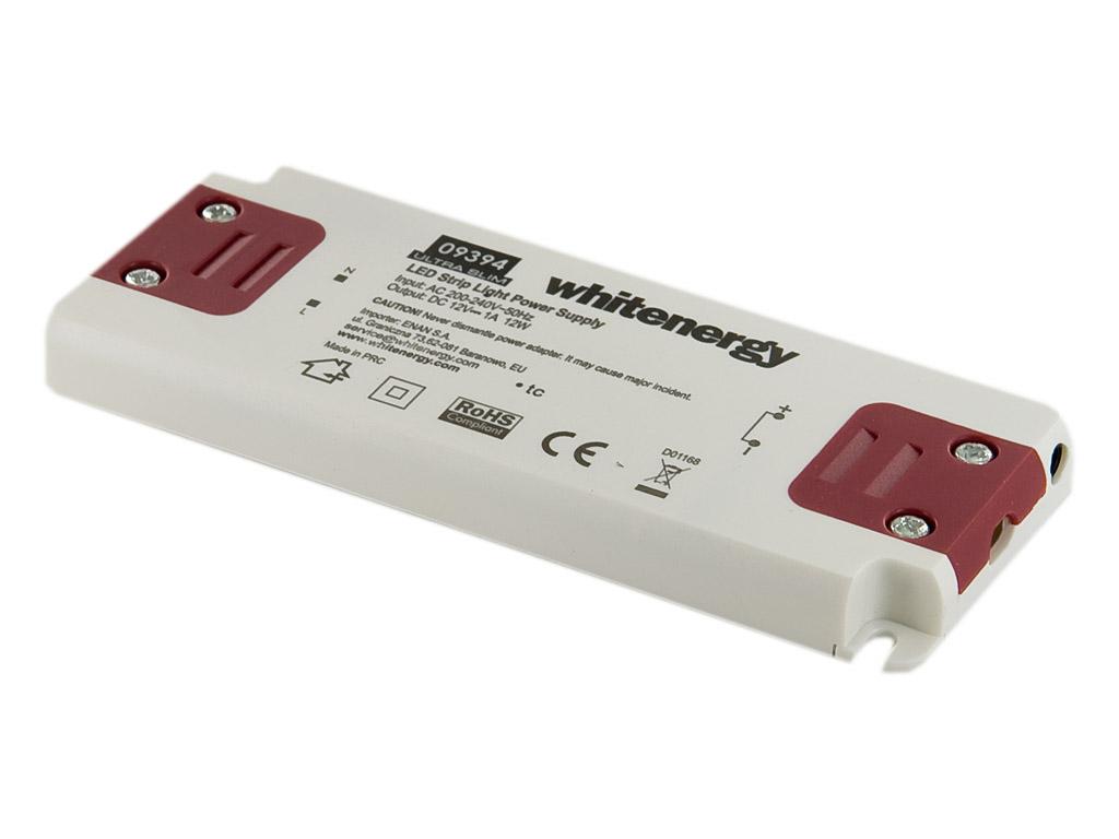 WE Zdroj LED ULTRA SLIM 230V 12W 12V