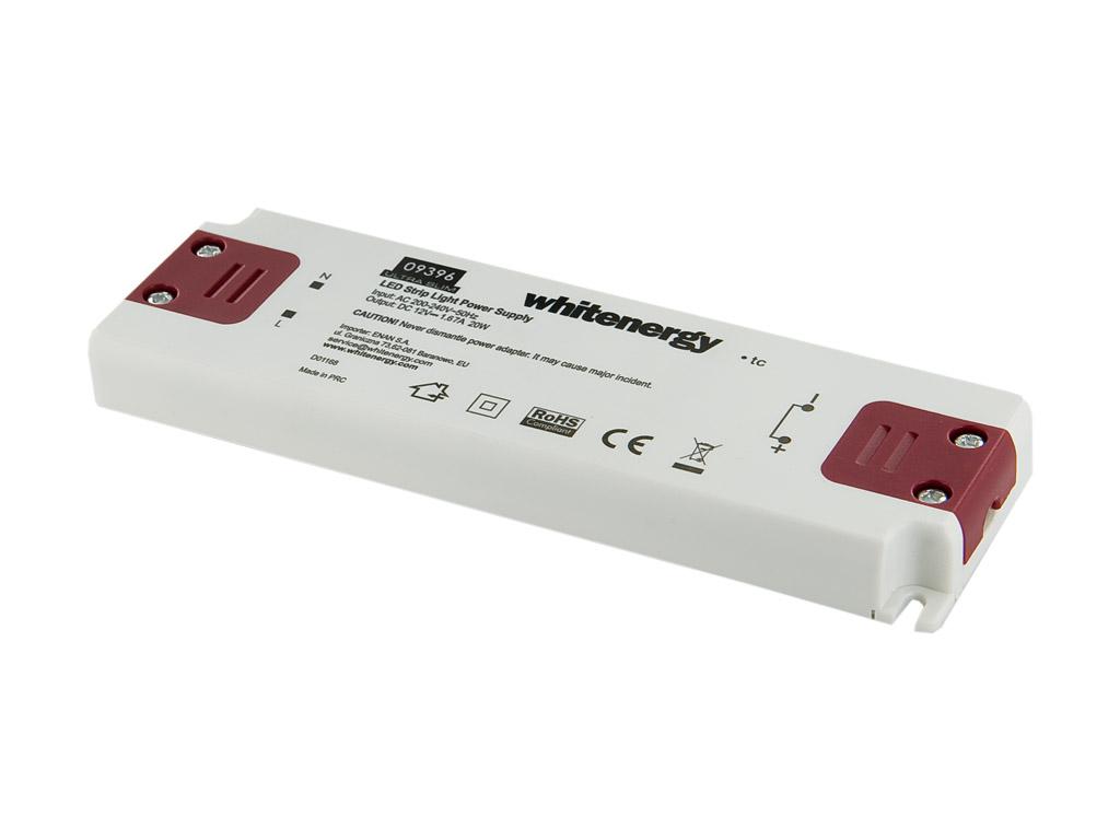 WE Zdroj LED ULTRA SLIM 230V 20W 12V