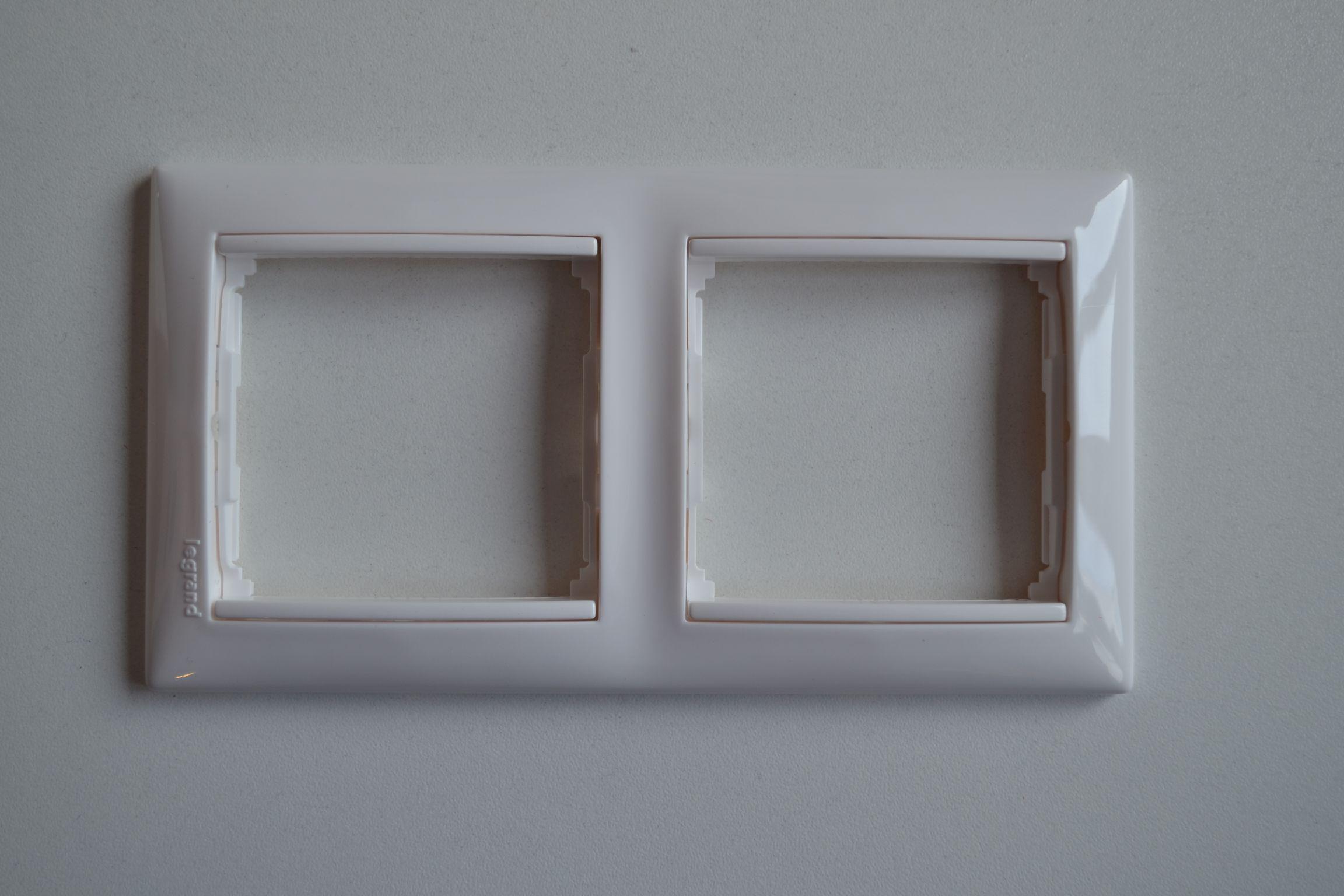 VALENA rámeček 2P horizontální bílý