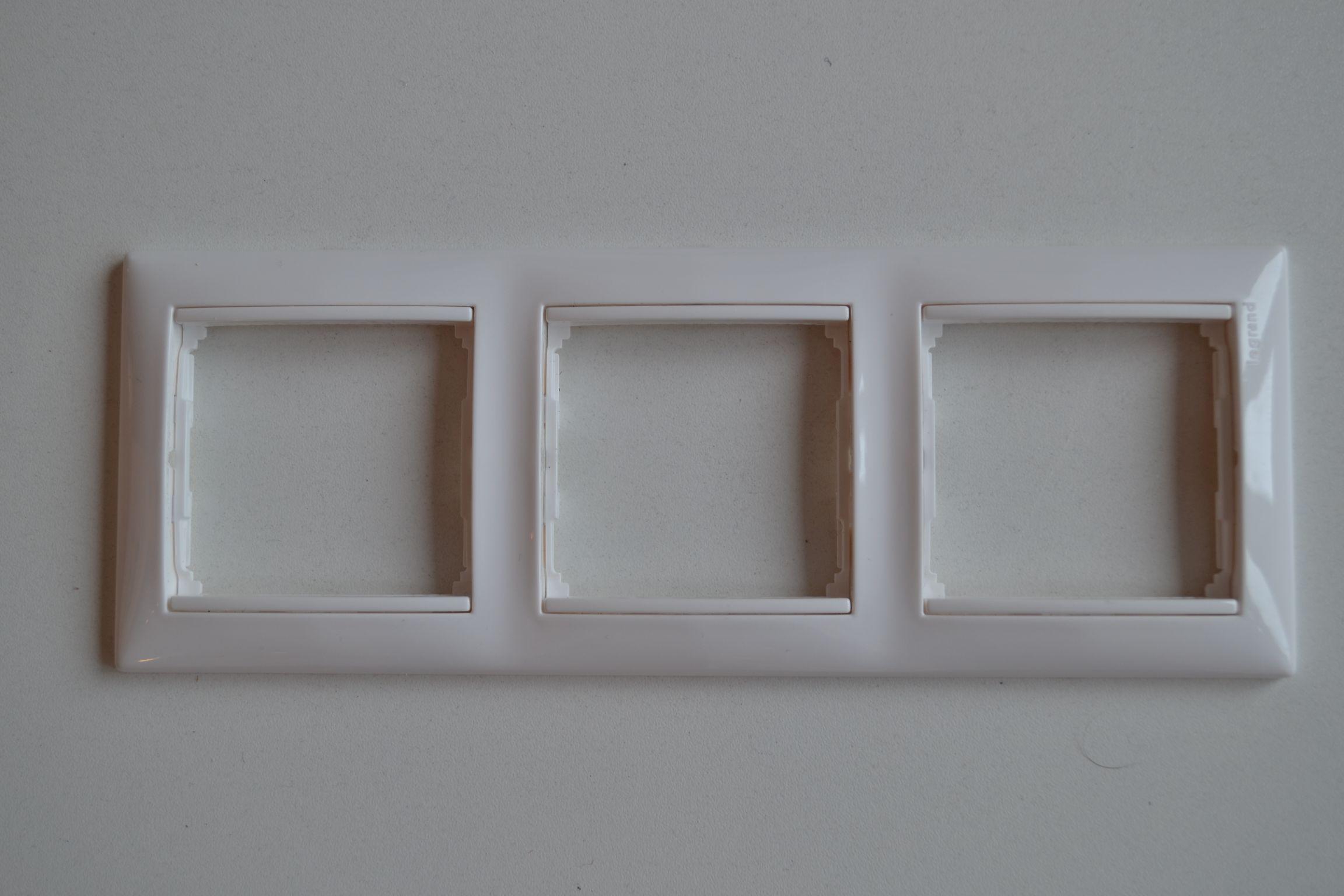 VALENA rámeček 3P horizontální  bílý