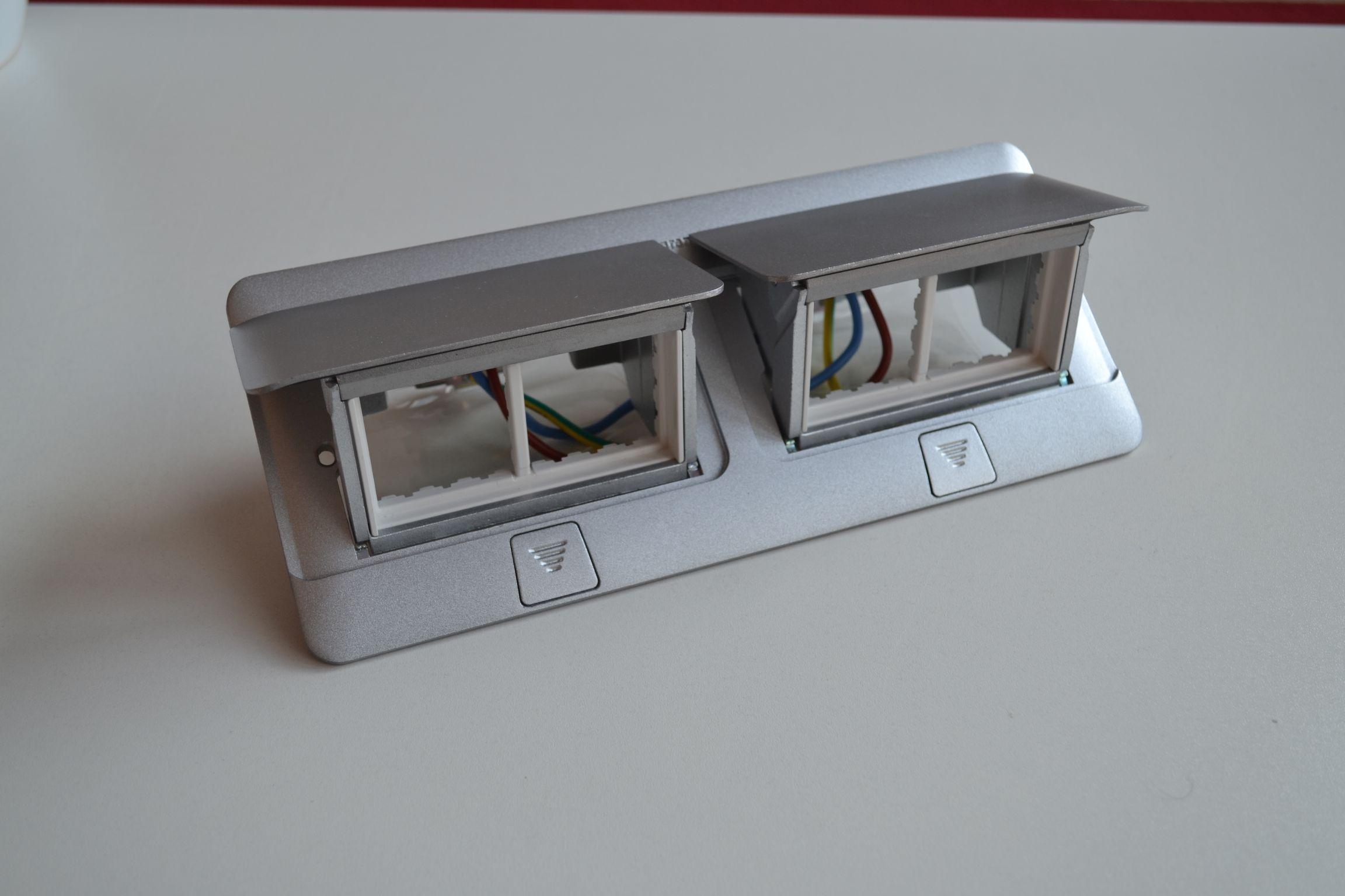 POPUP matný hliník 2x4 moduly