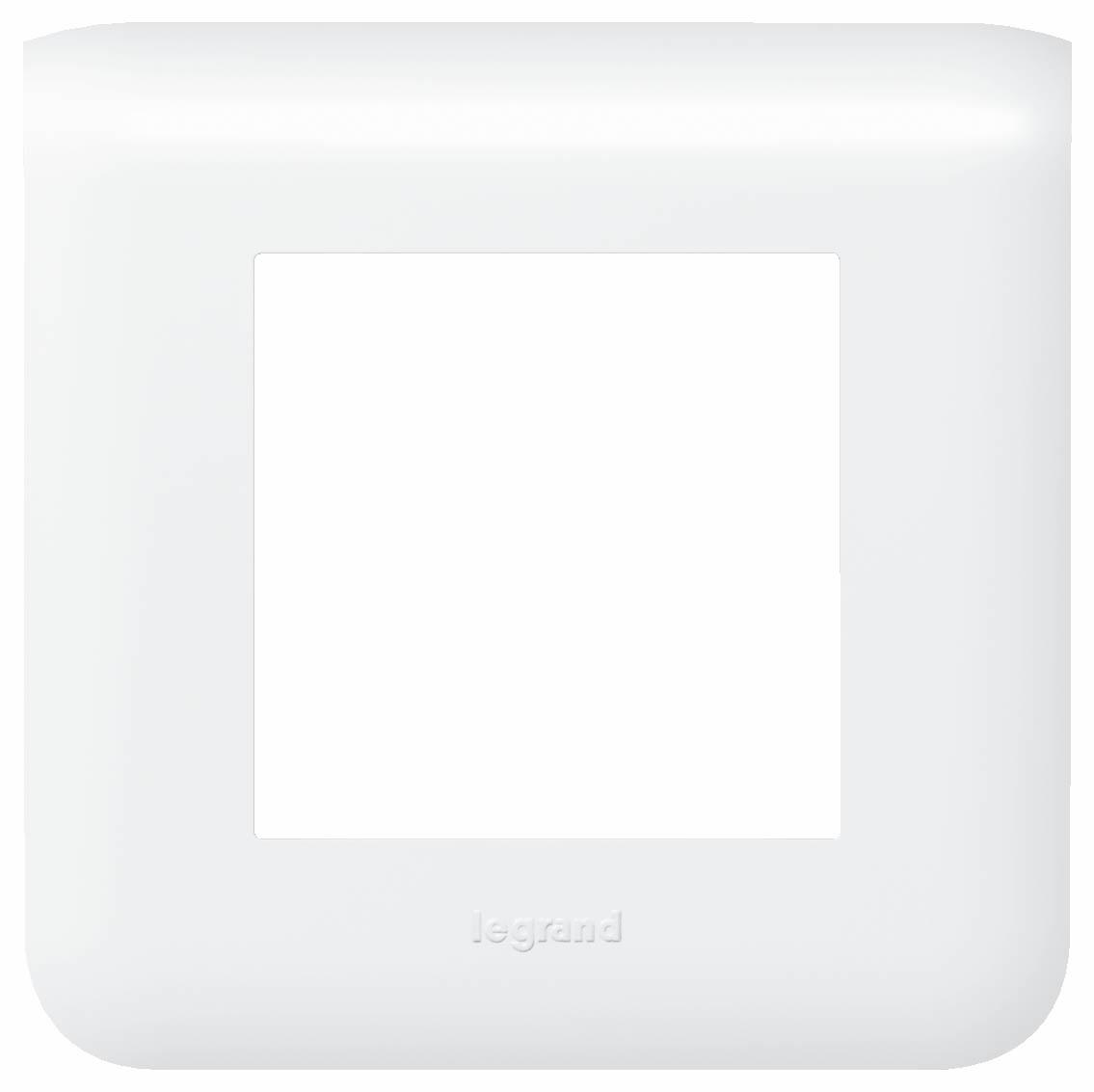 MOSAIC  krycí rámeček 2moduly bílá - 78802