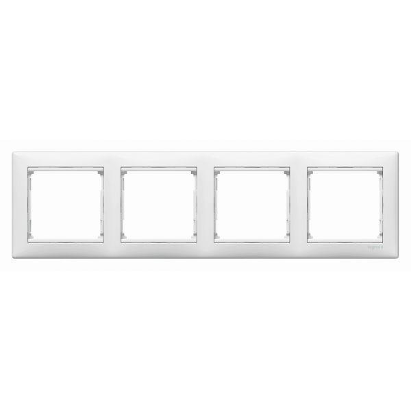 VALENA rámeček 4P horizontální bílý