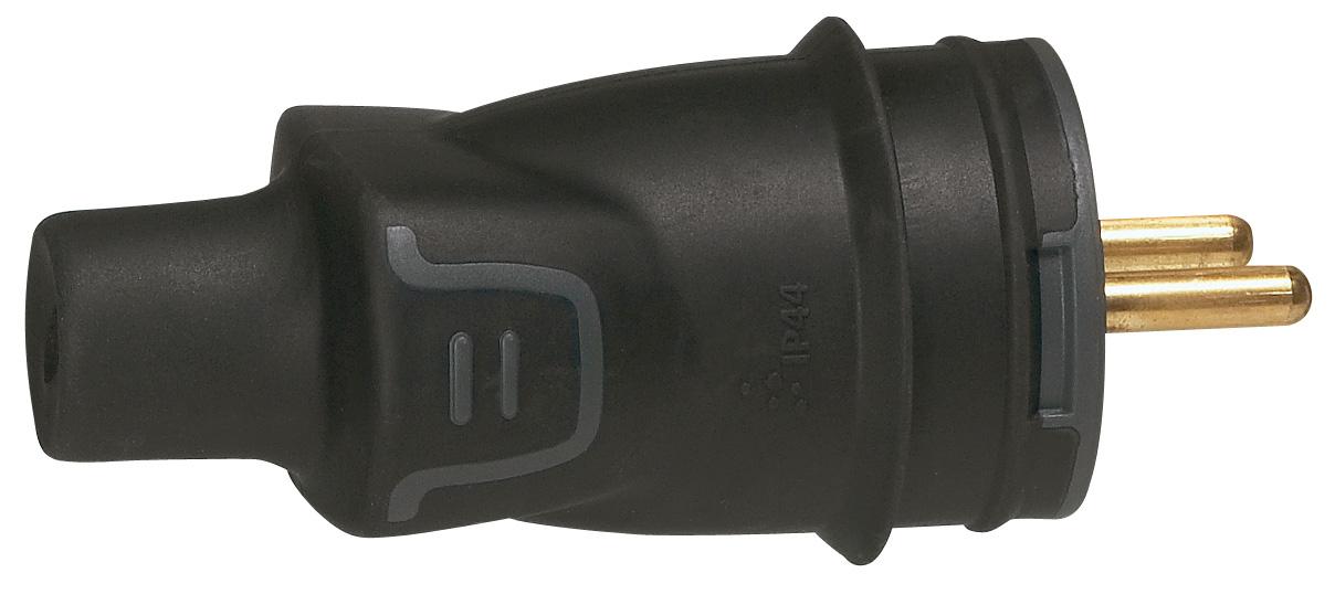 Vidlice gumová přímá IP44 50445 - 50445