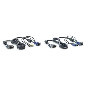 HP 1x4 KVM Console 6ft PS2 Cable