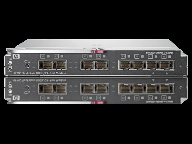 HP Virtual Connect FlexFabric 10/24 Enterprise Edi