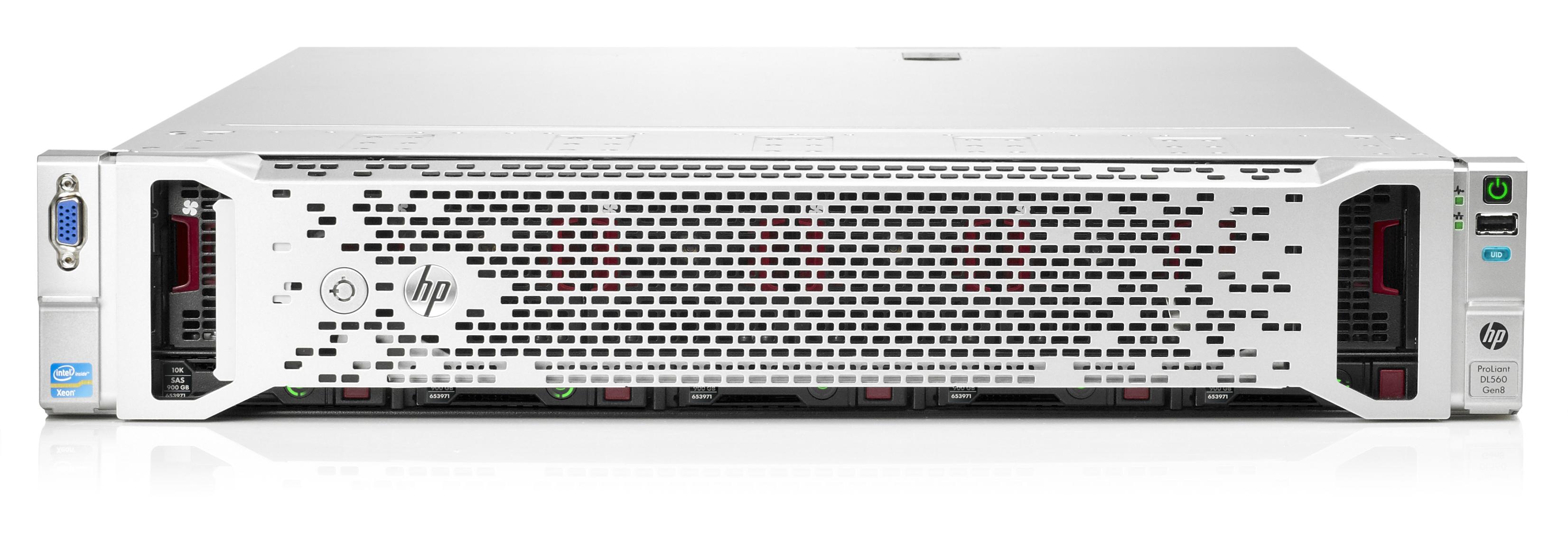 HP DL560 Gen8 E5-4640v2 128GB EU Svr