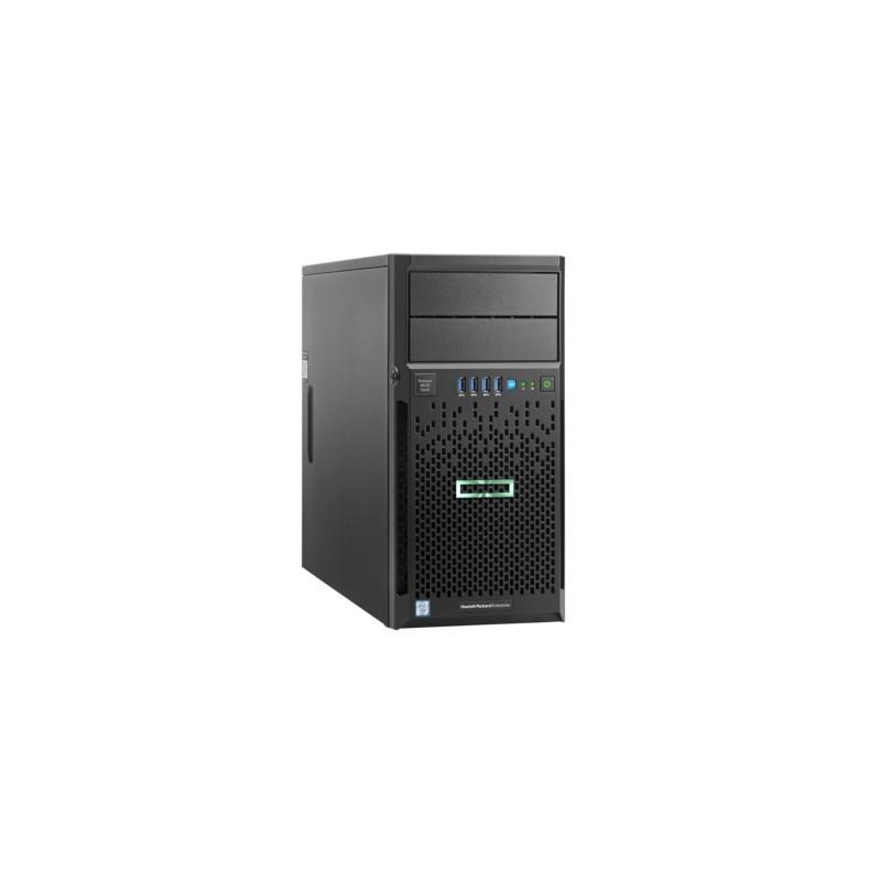 HPE ML30 Gen9 E3-1220v6, 8GB, NHP, B140i