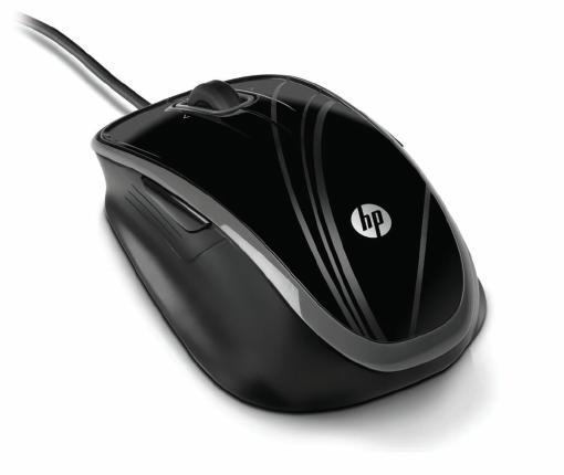 HP Optická pětitlačítková USB myš HP comfort