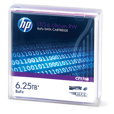 HP LTO6 Ultrium 6.25TB BaFe RW Data Tape