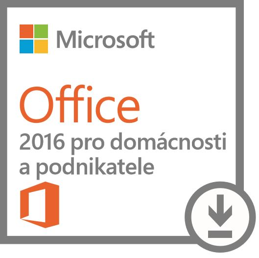 DELL OEM Microsoft Office Home & Business 2016 - pouze k HW Dell
