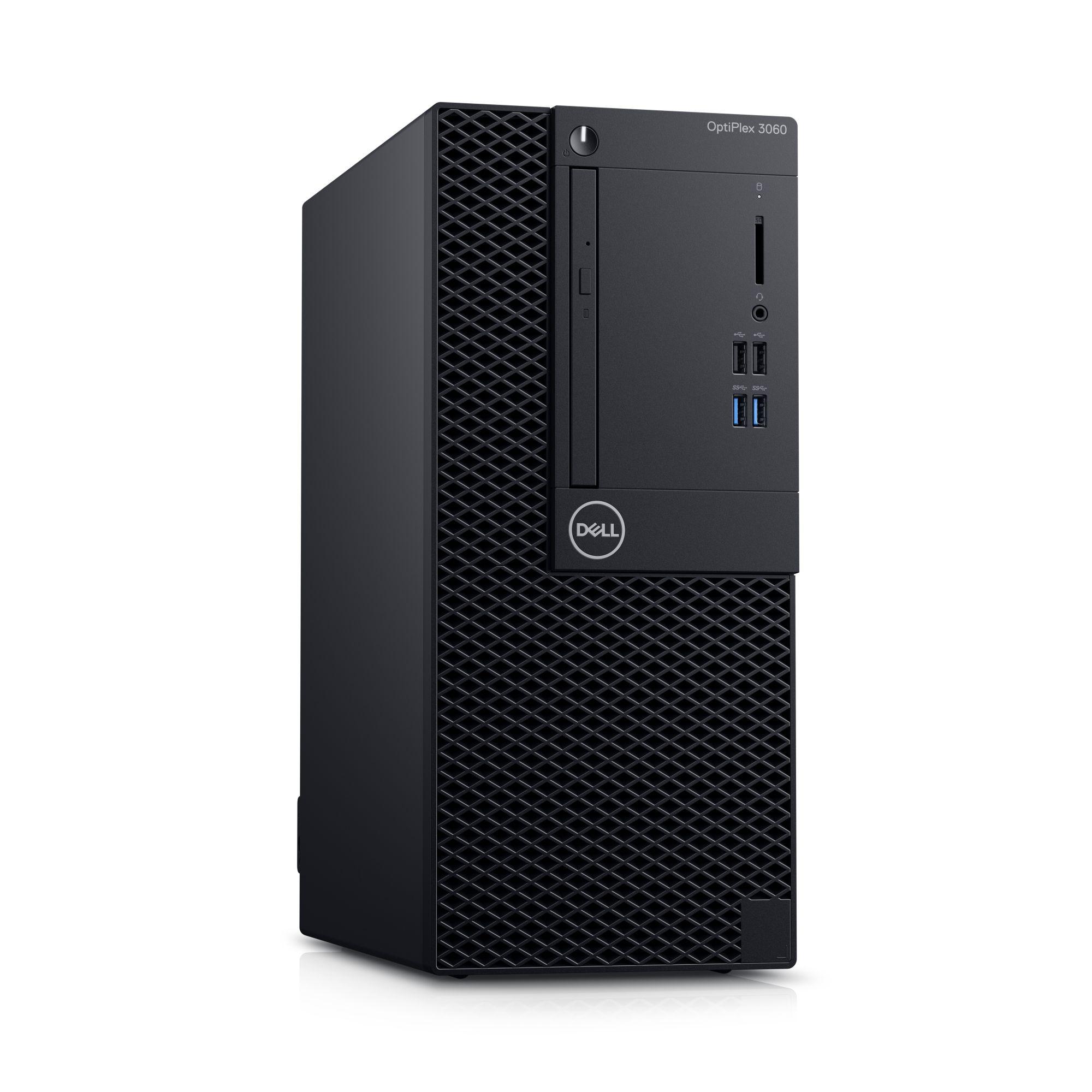 Dell PC Optiplex 3060 MT i3-8100/8GB/1TB/HDMI/DP/DVD/W10P/3RNBD