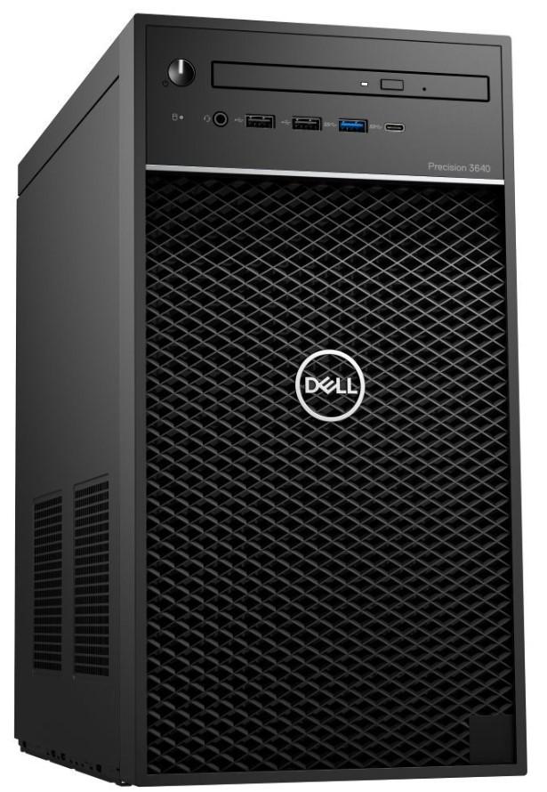 Dell Precision 3640 Tower i7-10700/8GB/256GB SSD/P620-2GB/DVD-RW/W10P/3RNBD/Černý