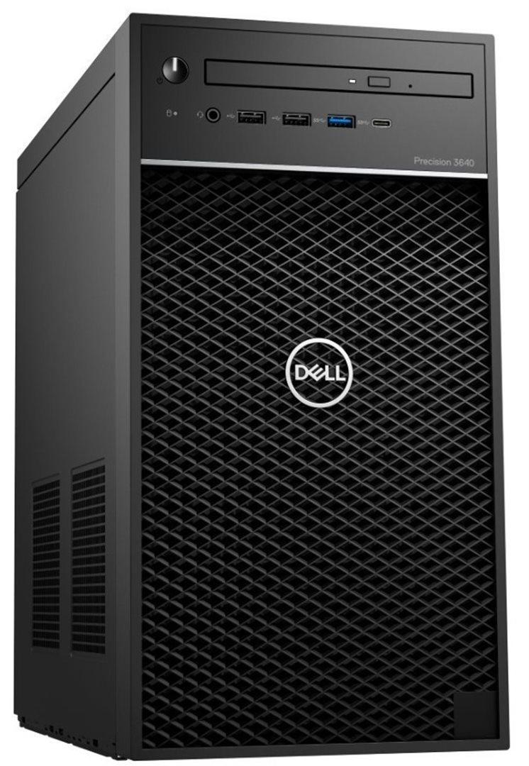 Dell Precision 3640 Tower i7-10700/16GB/256GB SSD+1TB/P2200-5GB/no-DVD/W10P/3RNBD/Černý