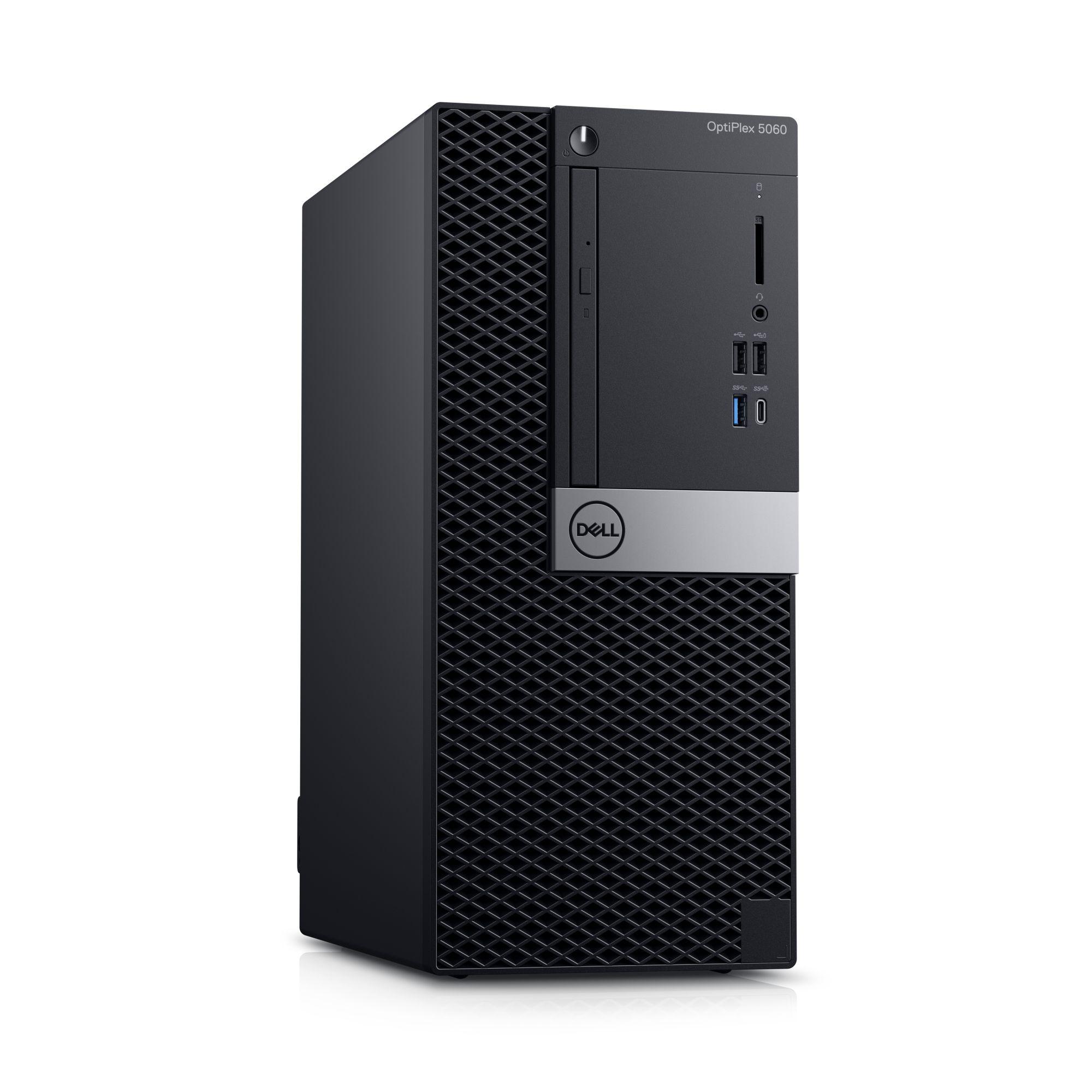 Dell Optiplex 5060 MT i7-8700/8GB/256GB SSD/DP/W10P/3RNBD/Černý