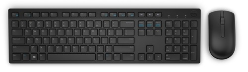 Dell set klávesnice + myš, KM636, bezdrátová, CZ
