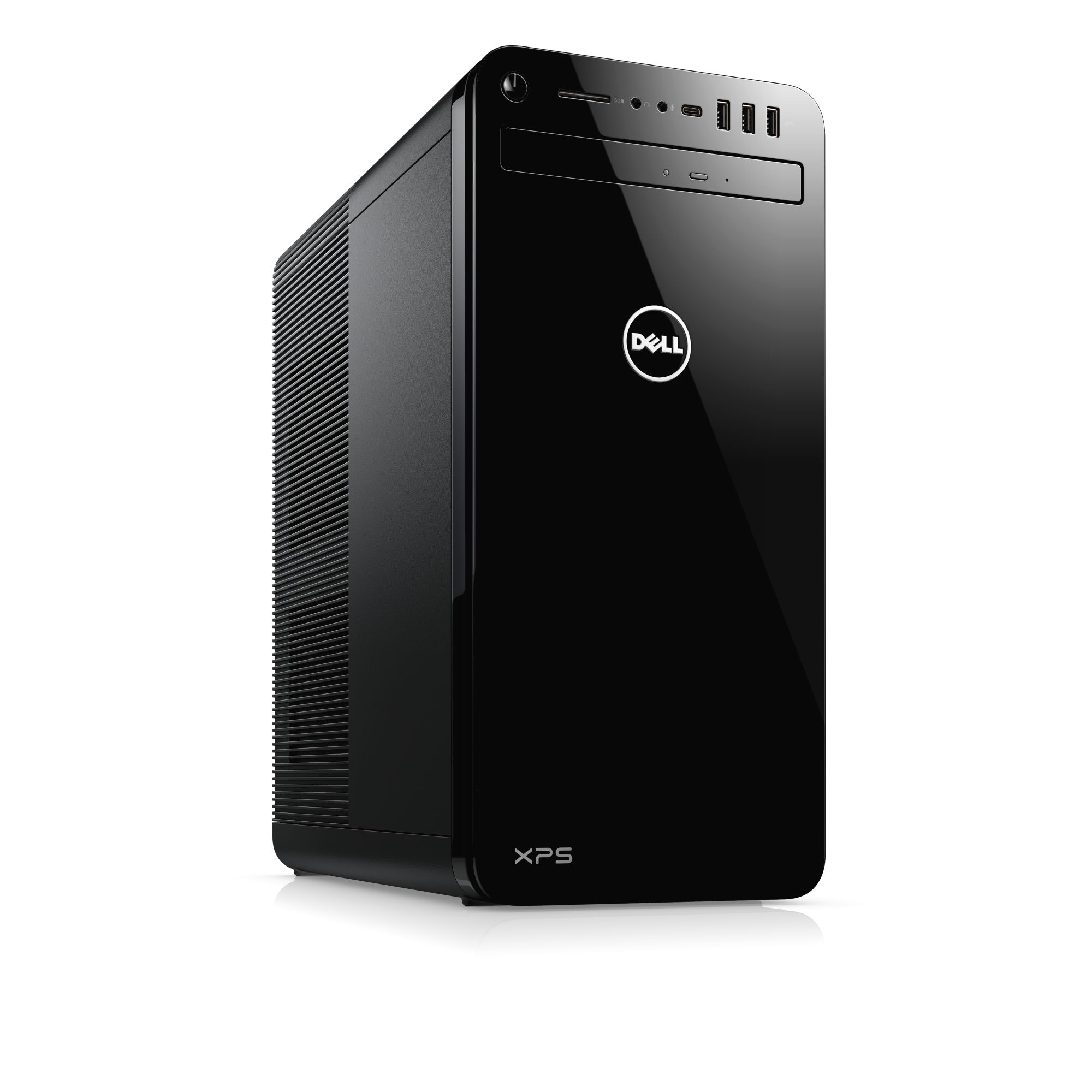 Dell PC XPS 8930 i7-8700/16GB/256B SSD+4TB/GTX1070-8GB/HDMI/DP/DVI/USB-C/WiFi+BT/DVD-RW/W10/2RNBD
