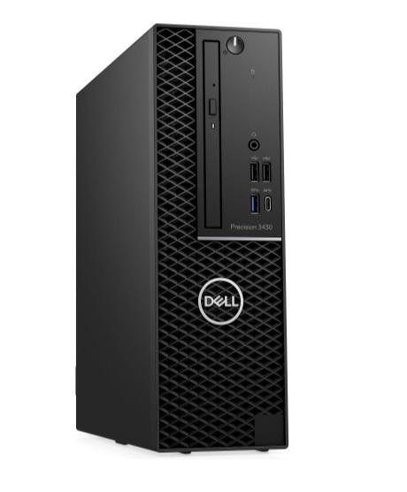 Dell Precision 3430 SF E-2146G/16GB/256GB SSD+1TB/P1000/USB-C/DP/W10P/3RNBD/Černý