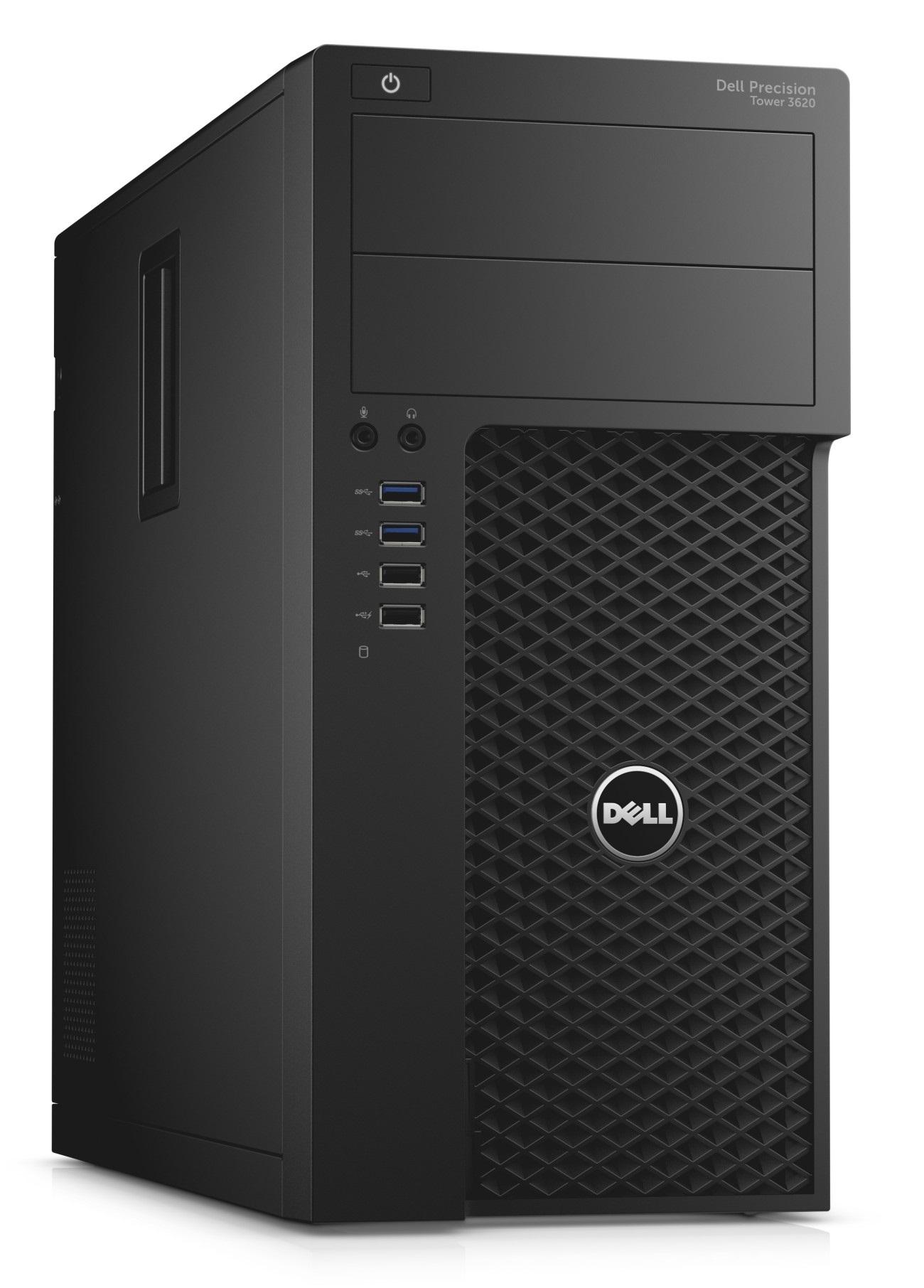Dell Precision T3620 MT i7-6700/8G/1TB/K420-2G/HDMI/DP/DVD-RW/W7P+W10P/3RNBD