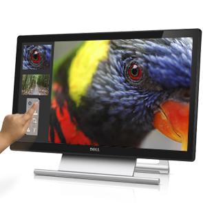 22' LCD Dell S2240T Touch 16:9/VA/DVI/HDMI/USB