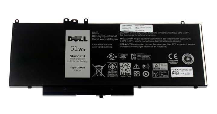 Dell Baterie 4-cell 51W/HR LI-ON pro Latitude 3550,E5250,E5450,E5550