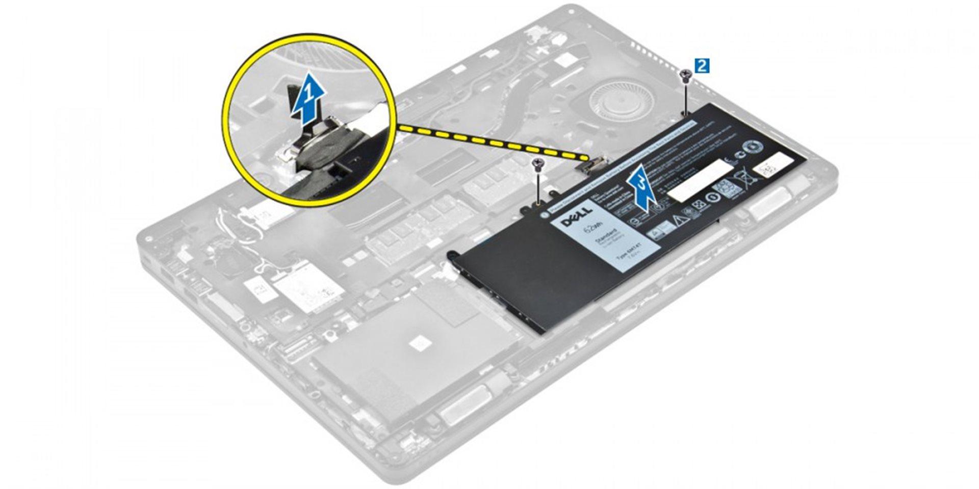Dell Baterie 3-cell 47W/HR LI-ON pro Latitude E5270, E5470, E5570