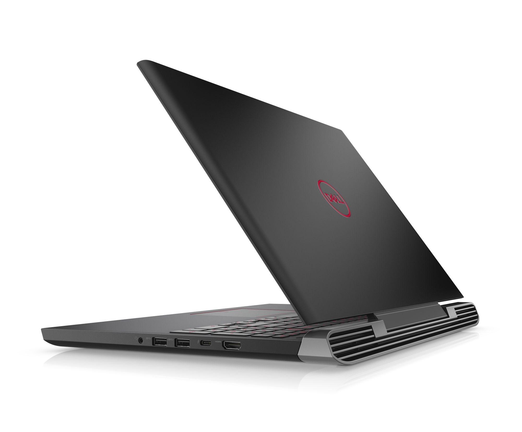 Dell Inspiron G5 5587 15 FHD i9-8950HK/16GB/256GB SSD+1TB/1060-6G/MCR/FPR/HDMI/THB/W10/2RNBD/Černý