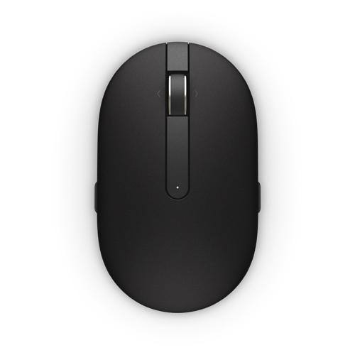 Dell myš, laserová WM326, bezdrátová, černá