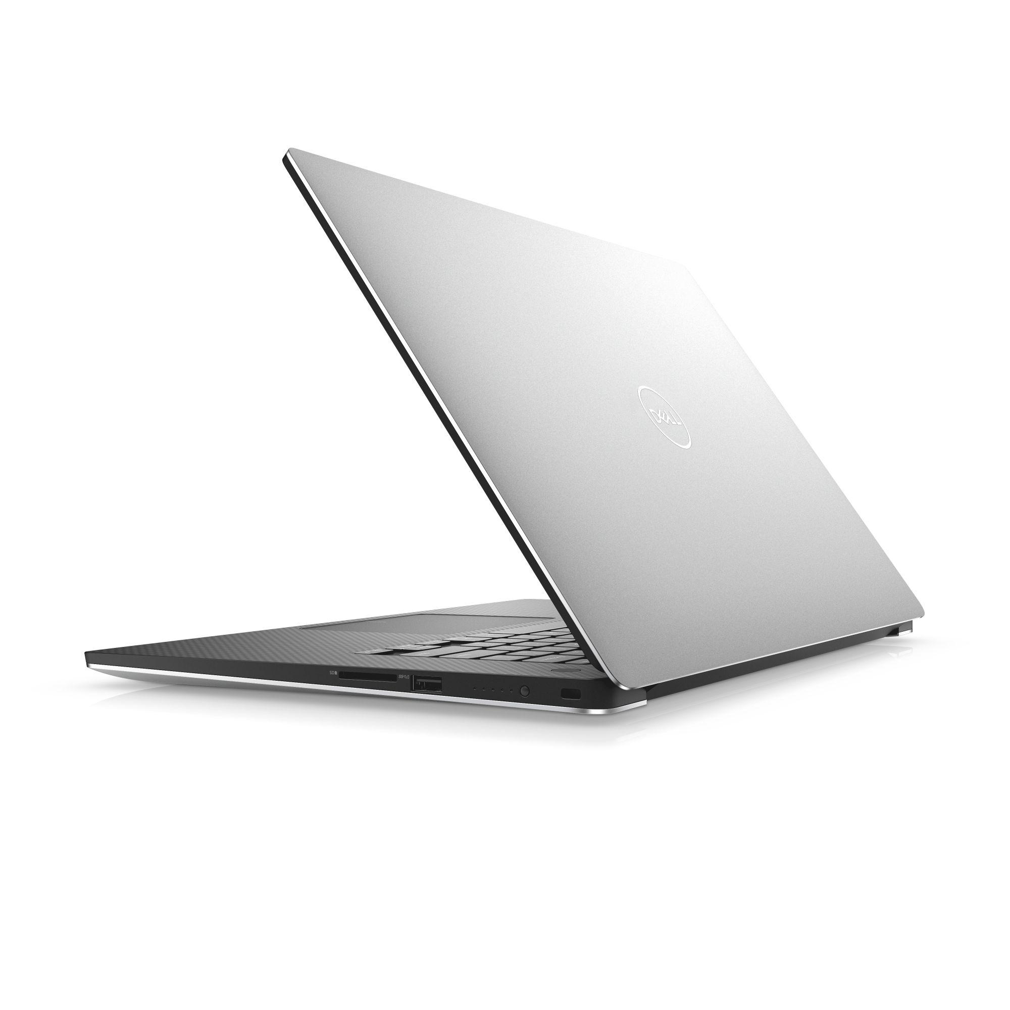 """Dell XPS 15 9570 15"""" FHD i7-8750H/16GB/512GB SSD/Ti 1050-4GB/THB/MCR/FPR/W10/2RNBD/Stříbrný"""