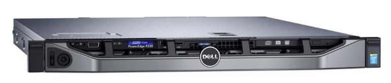 DELL server PowerEdge R330 E3-1230 /16G /4x300 SAS 10K/ H730/ iDrac/2x350W/3NBD PS