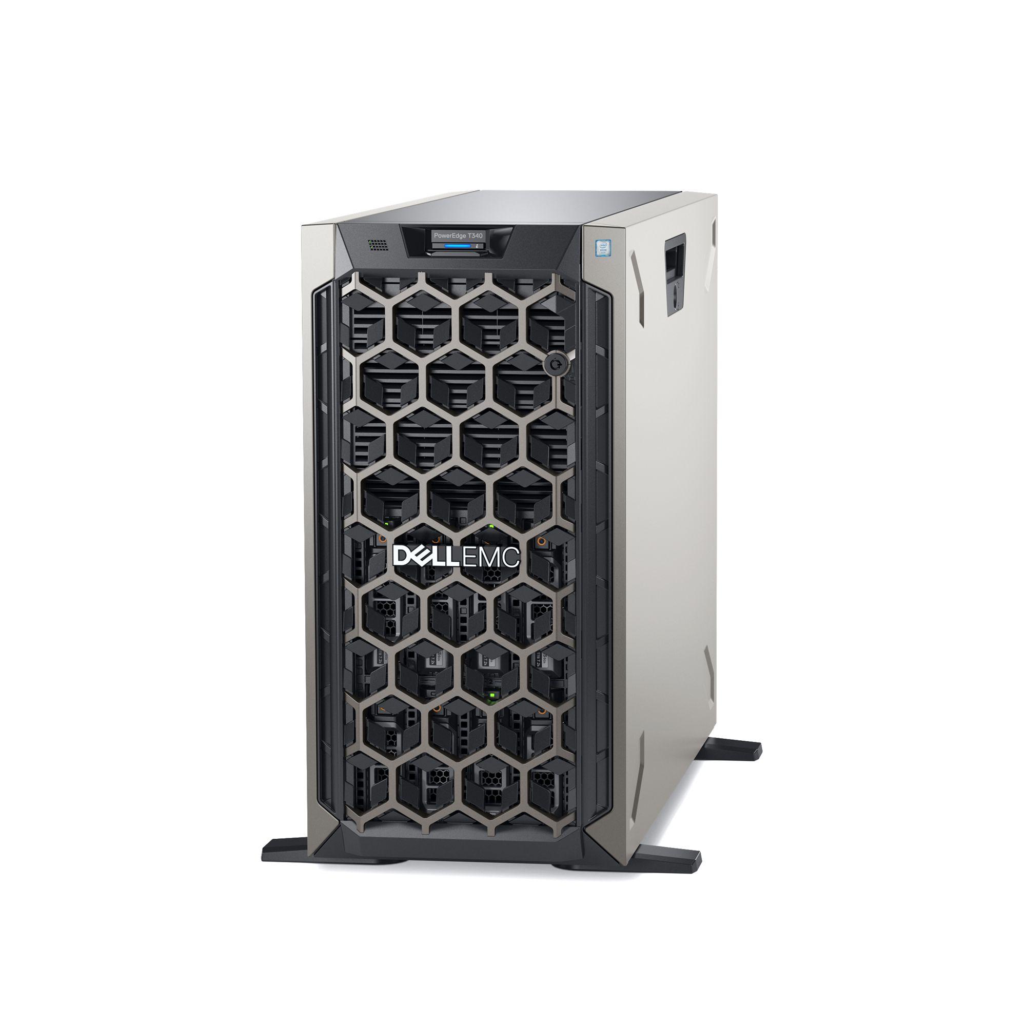 DELL server PowerEdge T340 E-2124/ 16G/ 2x 4TB NL-SAS/ H330+/ iDrac-Basic / 1x350W/ 3NBD Basic