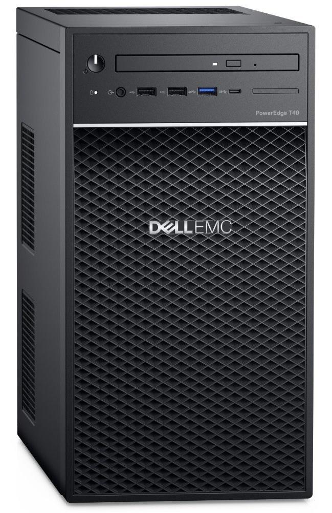 Dell T40 E-2224G/16G/2x2TB SATA/DVDRW/1xGLAN/3RNBD - T40-1622-3PS