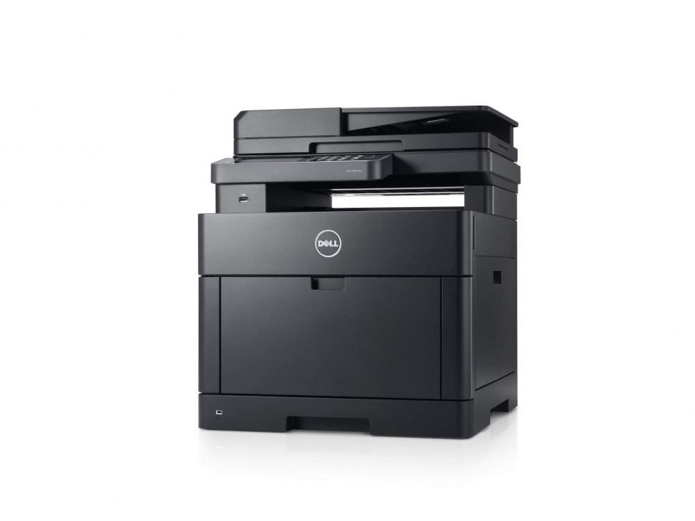 Dell H625cdw Colour Cloud MFP (A4, 23 ppm, 1GB RAM, duplex, DADF, 4,3'' Touch LC