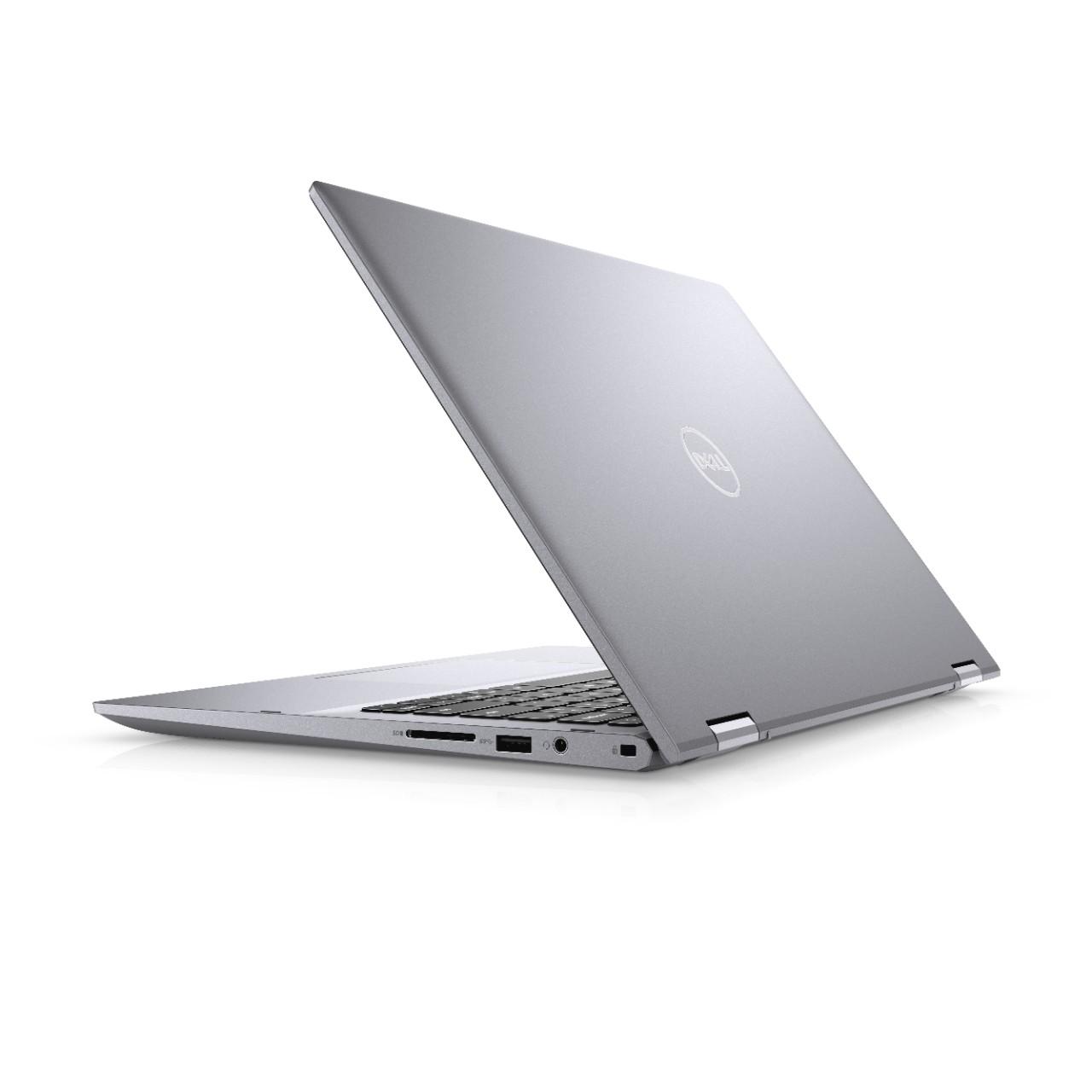 Dell Inspiron 5406 14'' FHD 2v1 Touch i7-1165G7/8GB/512GB/FPR/HDMI/USB-C/W10Home/2RNBD/Stříbrný - TN-5406-N2-711S