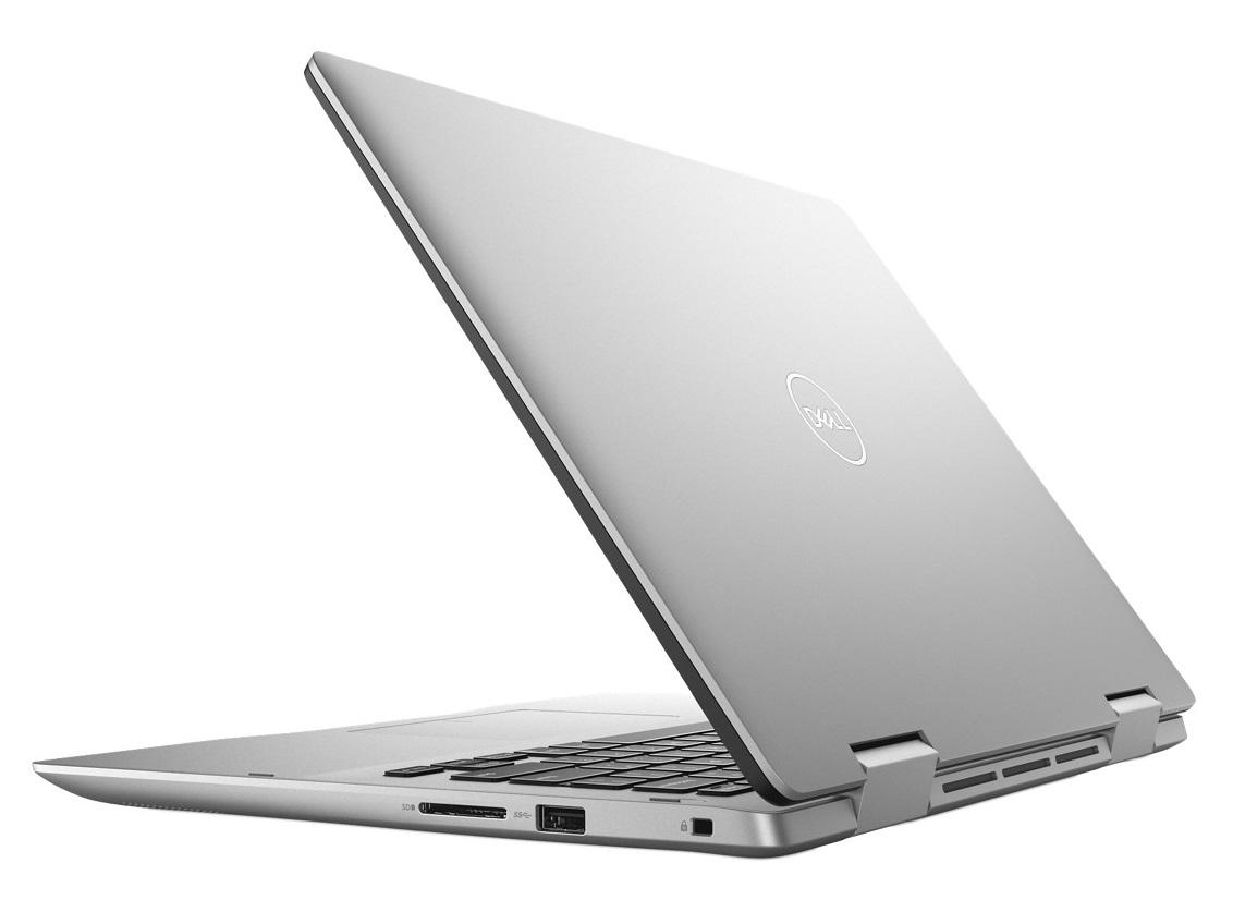 """Dell Inspiron 5482 14"""" 2v1 Touch FHD i7-8565U/8GB/256GB SSD/MX130/MCR/USB-C/HDMI/W10/2RNBD/Stříbrný"""