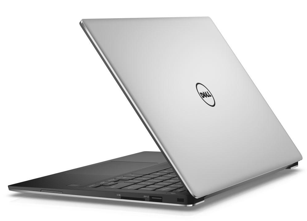 """DELL - Dell XPS 13 9360 13"""" Touch QHD+ i7-7500U/8GB/256GB SSD/HD/MCR/USB/THB/W10/2RNBD/Stříbrný"""