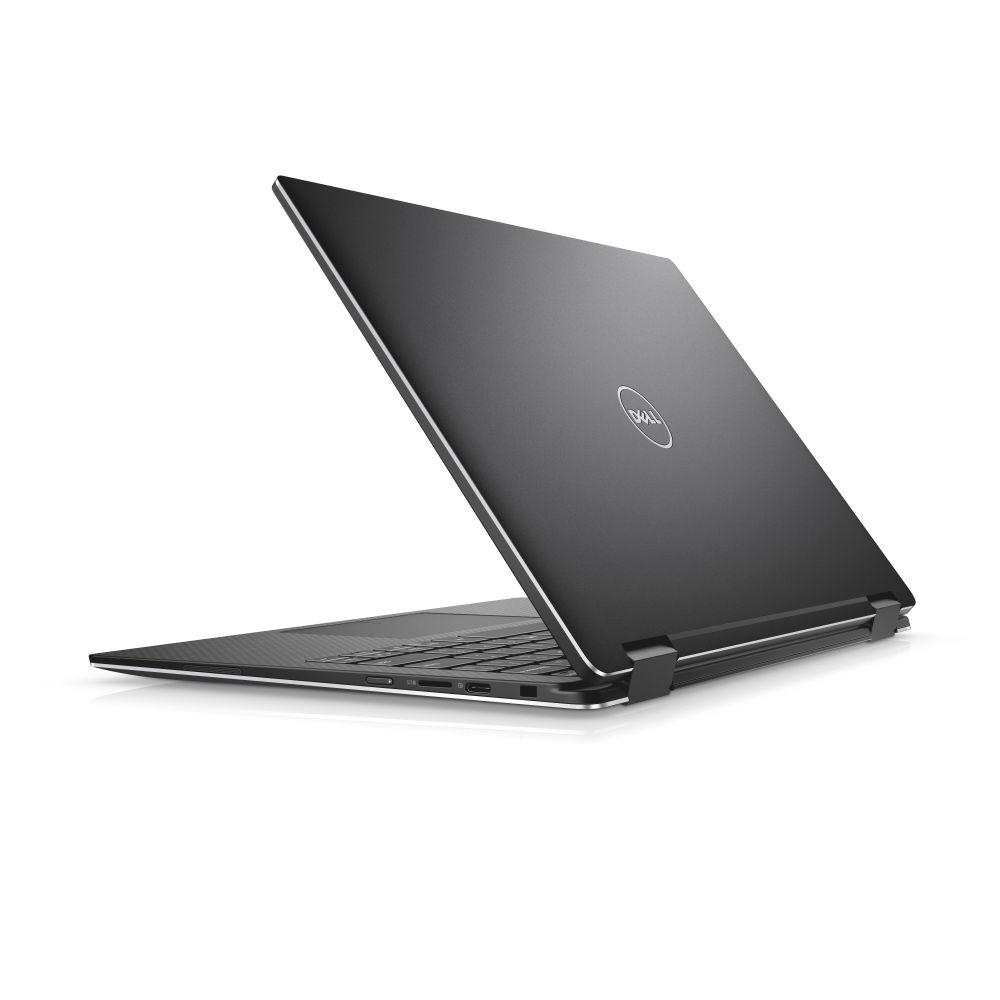 """TN-9365-N2-712K Dell XPS 13 9365 13"""" FHD Touch i7-7Y75/8G/256GB SSD/THB/USB-C/MCR/FPR/W10/2RNBD/Černý"""
