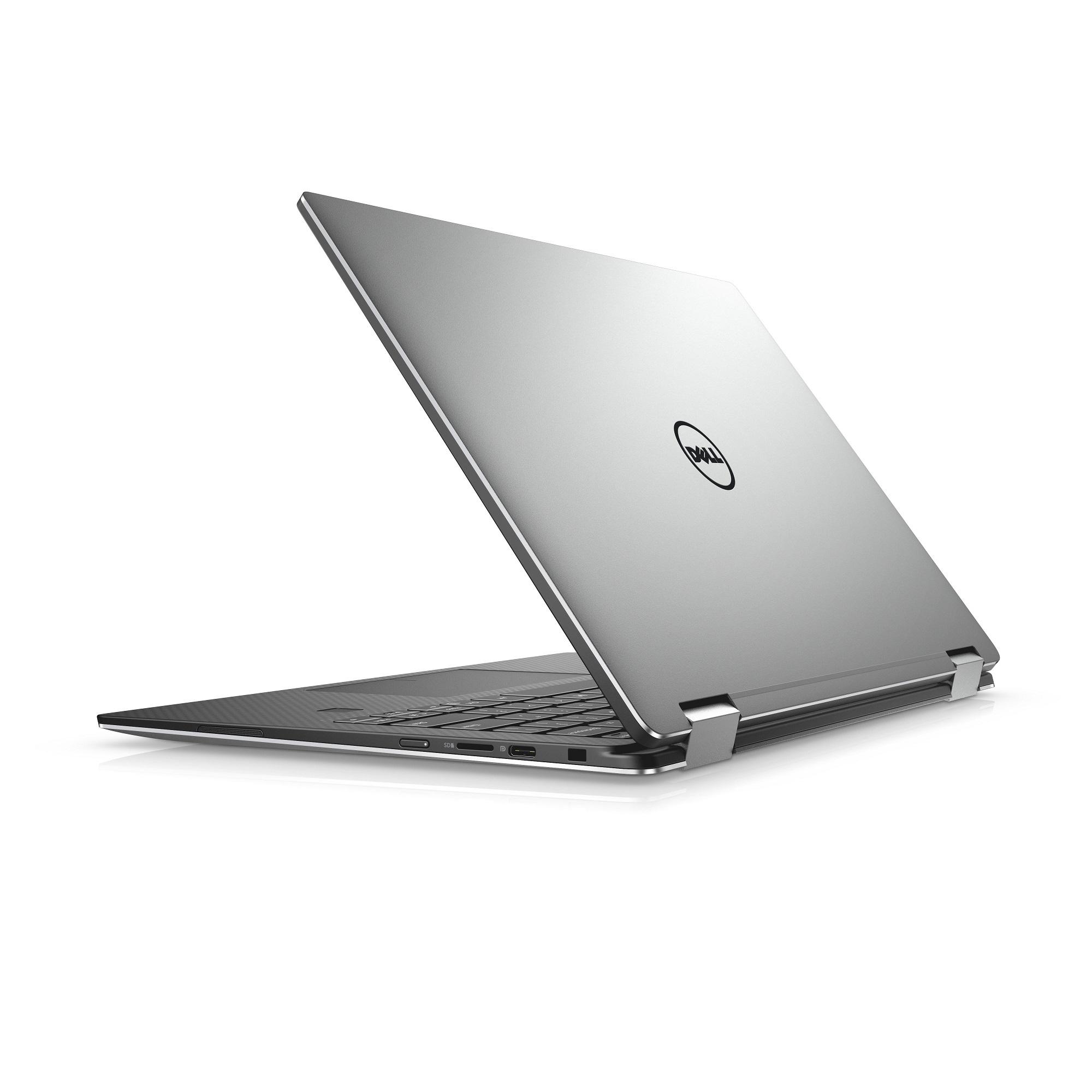 """TN-9365-N2-712S Dell XPS 13 9365 13"""" FHD Touch i7-7Y75/8G/256GB SSD/THB/USB-C/MCR/FPR/W10/2RNBD/Stříbrný"""