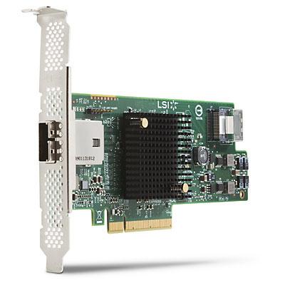 LSI 9217-4i4e 8-port SAS 6Gb/s RAID Card