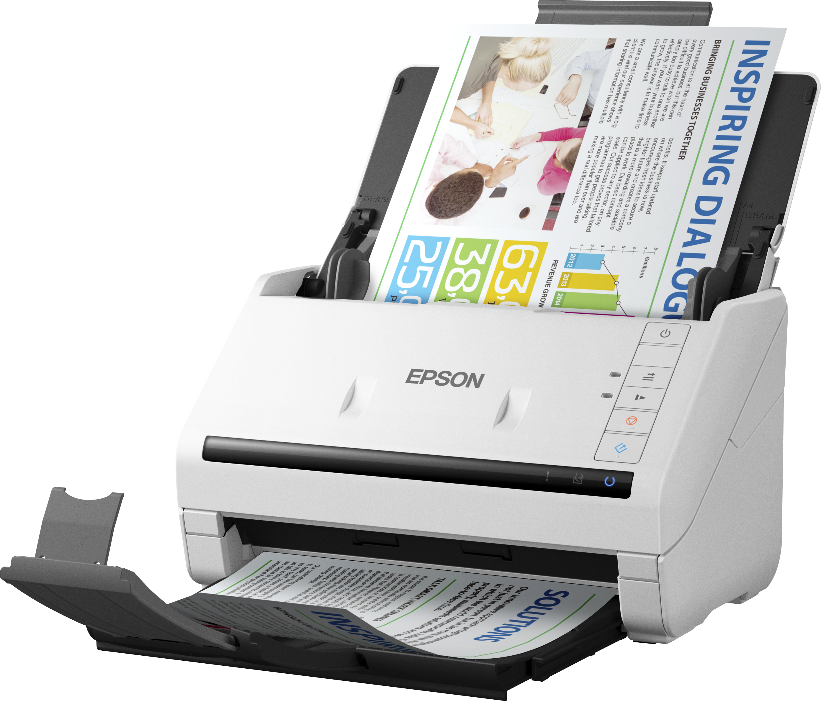 Epson WorkForce DS-530, A4, 600dpi, ADF, USB