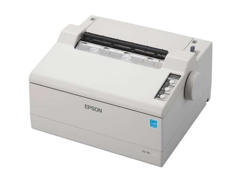 EPSON LQ-50 24 jehel, 360 zn/s, 2+1 kopií