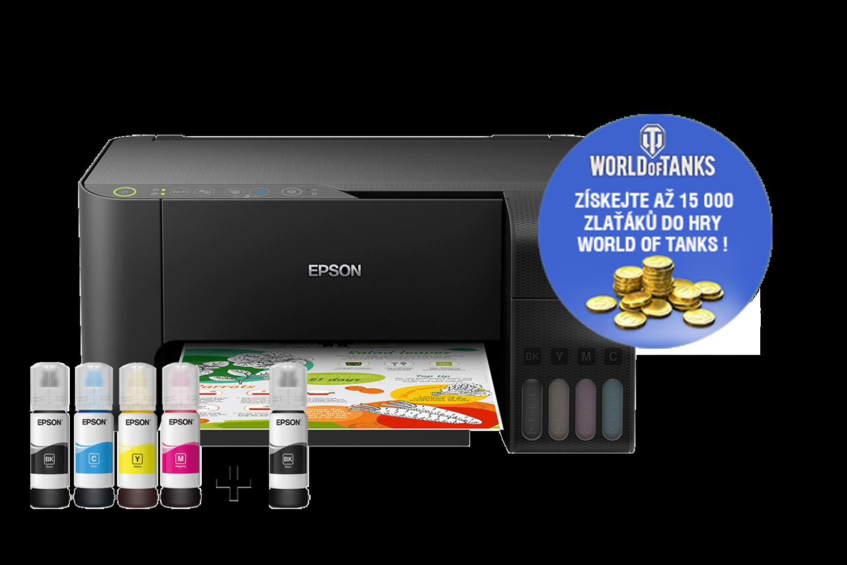 Epson L3150, A4, Wi-Fi , 33ppm, 5760 x 1440, WiFi