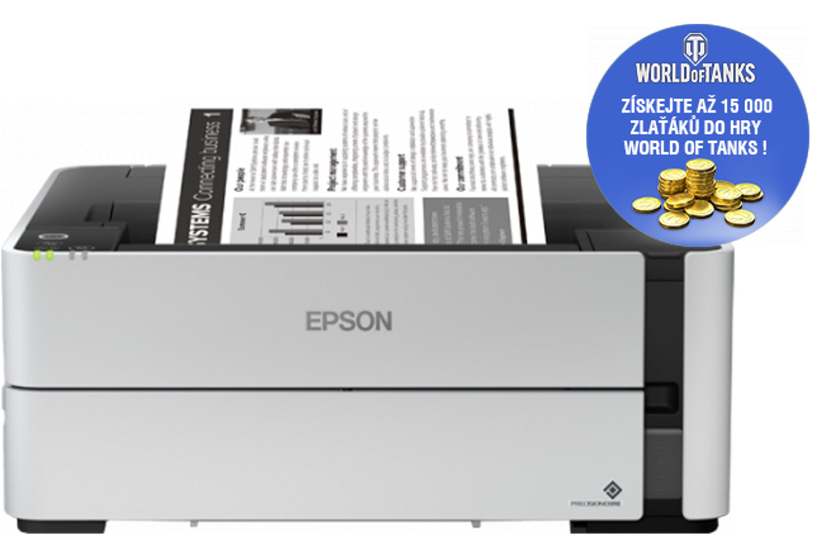 EPSON EcoTank M1170, A4, 39 ppm, mono - C11CH44402