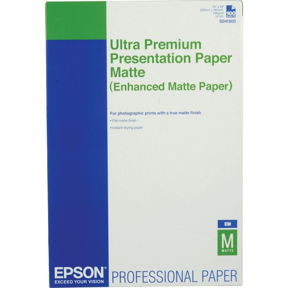 Enhanced Matte Paper, DIN A3+, 189g/m?, 100 Blatt - C13S041719