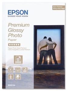 EPSON Premium Glossy Photo Paper 13x18cm 30 listů