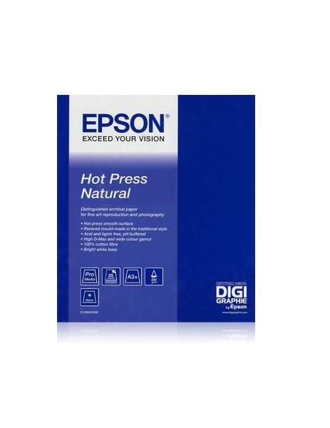 EPSON Hot Press Natural Paper, A3+ (25 sheets)