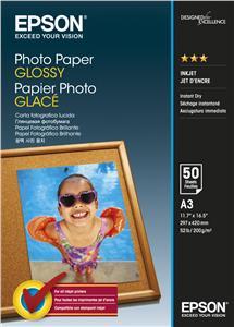 EPSON Photo Paper Glossy A3 50 listů